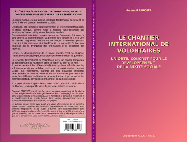 G. FAUCHER - Le Chantier International de Volontaires ... Couverture