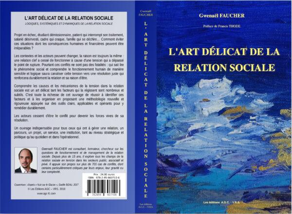 Couverture du livre l'art délicat de la relation sociale